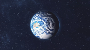 I will create an earth zoom out  logo reveal animation
