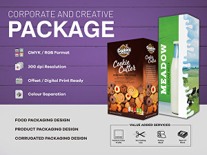 I will design Packaging and Label for your Products