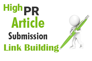 I will create 180 plus unique article submission with high authority to live backlinks
