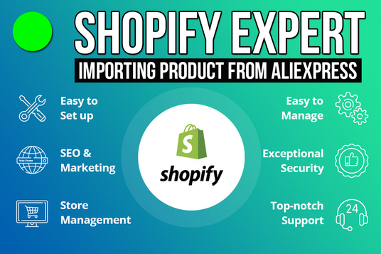 import products from aliexpress to your shopify website as shopify website expert