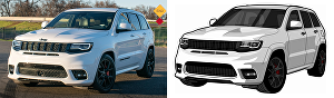 I will convert your car image into vector format