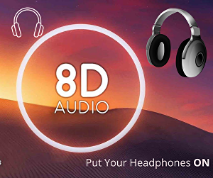 I will convert your music audio to 8d