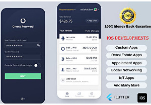 I will create your iOS and Android mobile app with Flutter
