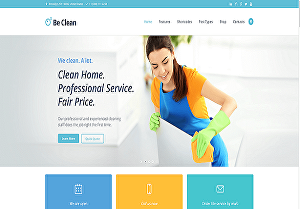 I will create house, office, cleaning booking services wordpress website