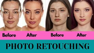 I will professionally retouch & edit your photos