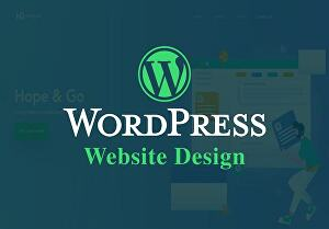 I will build any kind of website with WordPress