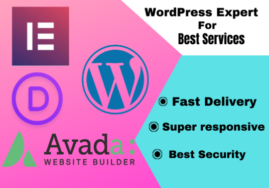 build any kind of website with WordPress