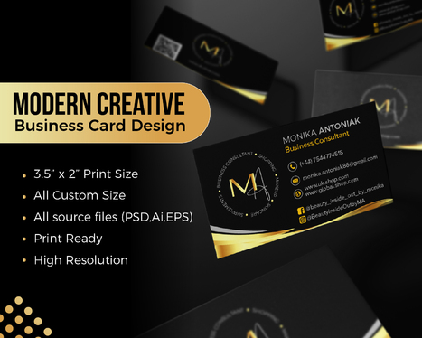 Design Professional Business Cards With Unlimited Revisions