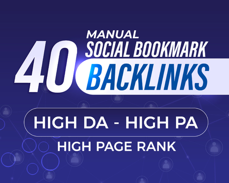 Manually Submit Your Website to 40 Social Bookmarking Sites