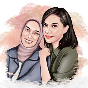 I will draw your photo to awesome cartoon portrait