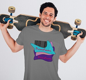 I will do t shirt and product mockup for you