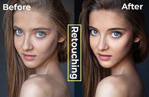 I will do beauty retouch and portrait editing very fast