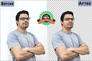 I will do 150 photoshop background removal