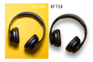 I will do background removal, white or transparent clipping path service