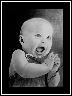 I will draw a realistic pencil sketch portrait pencil art from your photo