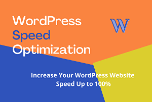 I will Optimize your WordPress page speed on Gtmetrix and Google Pagespeed