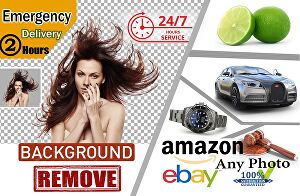 I will do 100 photos background removal