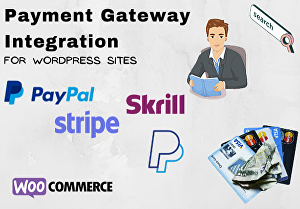 I will integrate paypal or other payment gateways to your wordpress website
