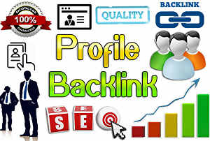I will build 170 high authority WEB 2.0 Profile Backlinks