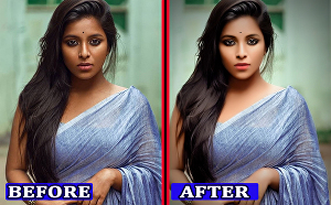 I will do photo editing and retouching with adobe photoshop