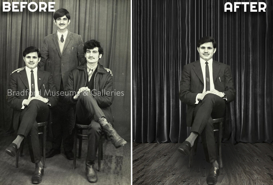 restore old photos, fix, and colorize