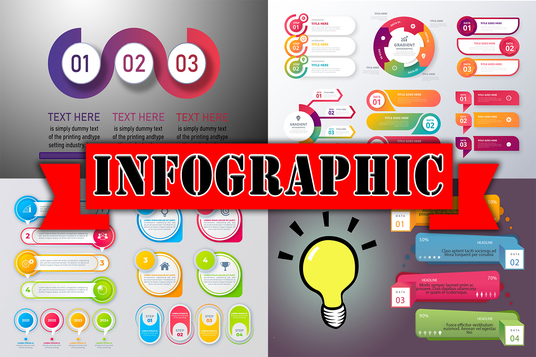 Create a unique professional infographic within 24H