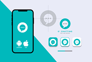 I will do outstanding mobile app logo design with golden ratio for android and iOS