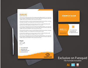 I will provide luxury Business card, letterhead, corporate brand identity  and stationery Design