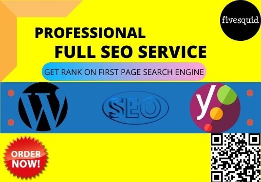 do complete seo service to rank high your wordpress website on google search