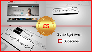 I will create a custom YouTube Social Booster Outro within 24 hrs