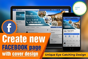 I will create your social media profiles and business page