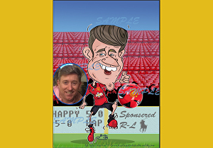 I will create full body Caricature for Fathers Day