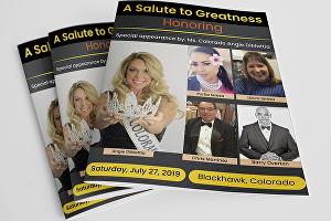 I will create a professional flyer, brochure, catalog, magazine, banner, poster design for your b