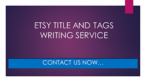 I will Improve your Etsy SEO by writing your Etsy titles and Etsy tags