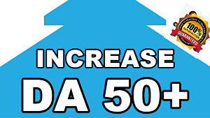 I will Increase Domain Authority Moz DA 50 Plus With High Quality