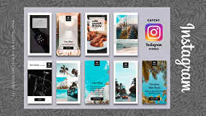 I will make an awesome instagram stories design
