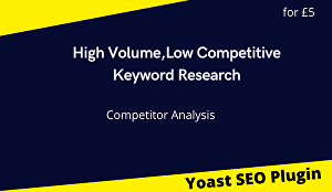 I will do high volume low competitve keyword research and competitor analysis