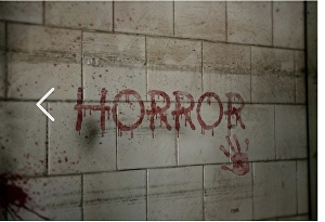 I will write a spooky messege with the blood on the wall