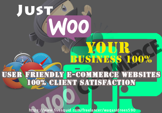 develop E-commerce website for you