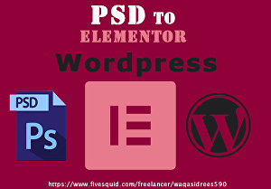 I will be your Elementor expert for Elementor website by Elementor pro