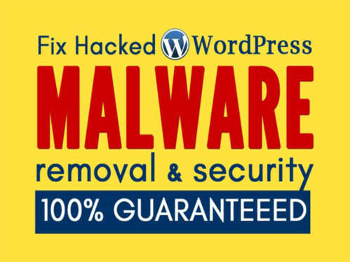 fix any WordPress issue and remove malware and secure your website