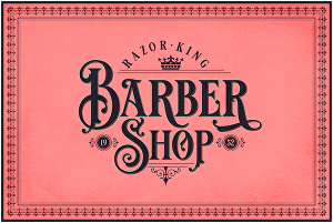 I will design a beautiful vintage typography logo