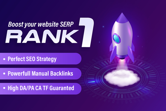 Help To Boost Your Website Ranking To The TOP Position with 100% Manual Backlinks