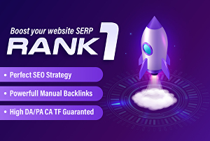 I will Help To Boost Your Website Ranking To The TOP Position with 100% Manual Backlinks