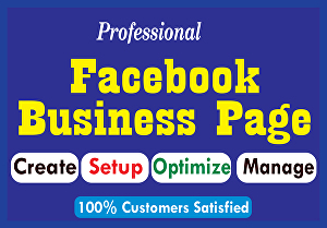 I will Create a Professional Facebook business page with full optimization