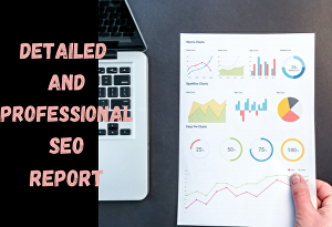 I will Provide a very detailed and professional SEO report for your website
