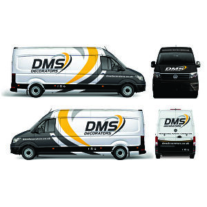 I will create outstanding Vehicle wrap, signage, livery or decal
