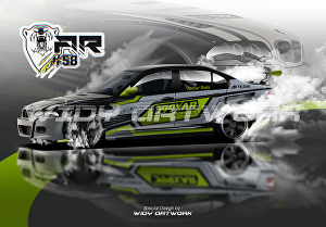 I will draw your ride into a realistic vector illustration
