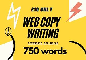 I will create web copy that converts 100%