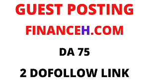 I will publish guest post on finance